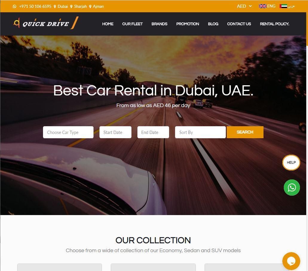 quick drive website