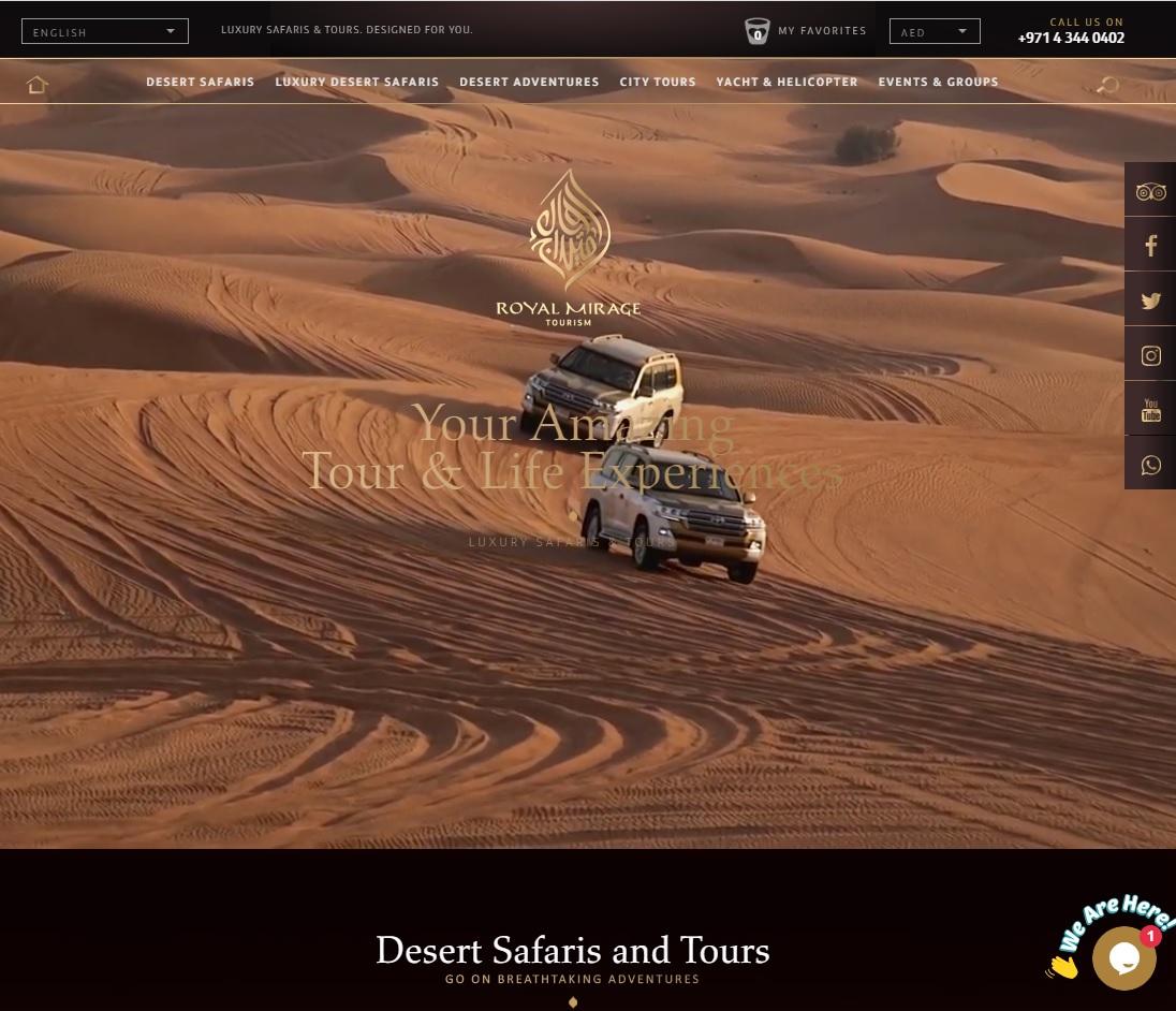 royal mirage website